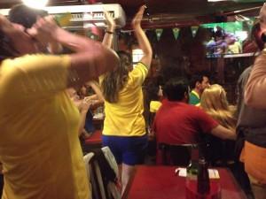 Bij Jóia Carioca wordt doelpunt van Neymar gevierd